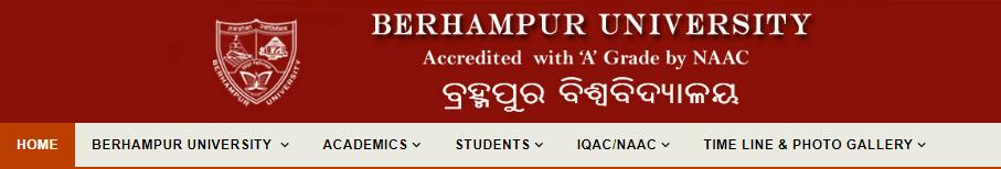 Berhampur University BA Result 2018