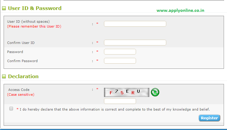 Kerala PSC My Profile Login Page
