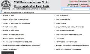 MSU-Baroda-Admission-2018-Digital-Application-Form-Login-300x180 Online Application Form For Scholarship In Karnataka on