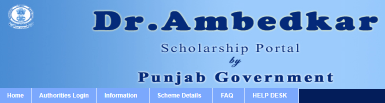 Punjab Ashirwad Scholarship - punjabscholarships.gov.in
